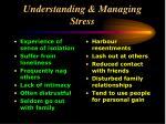 understanding managing stress19