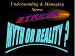 understanding managing stress2