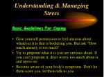 understanding managing stress38