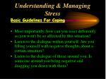 understanding managing stress40