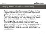 emerging themes the cycle of commissioning