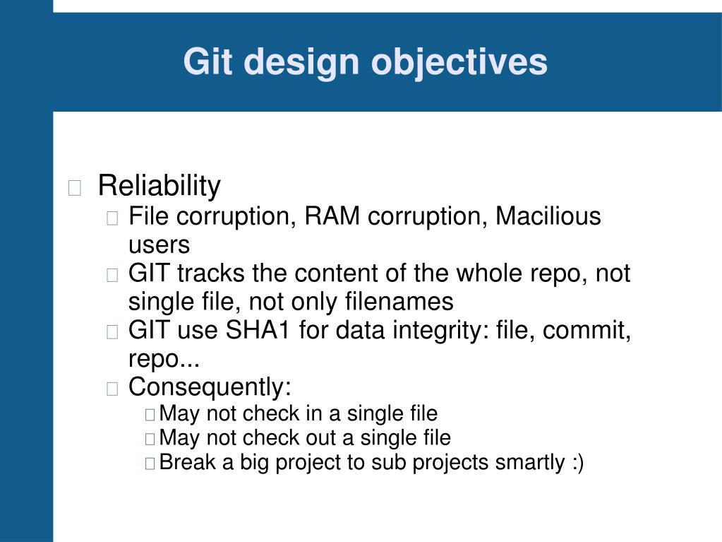 PPT - GIT tutorial PowerPoint Presentation - ID:846777