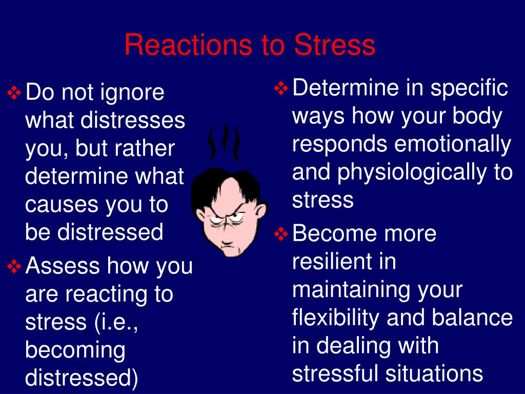Do not ignore what distresses you, but rather determine what causes you to be distressed