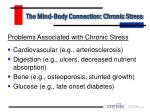 the mind body connection chronic stress