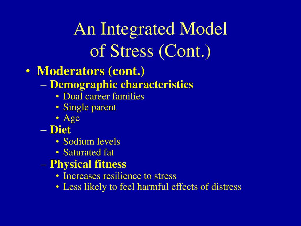 An Integrated Model