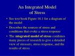 an integrated model of stress