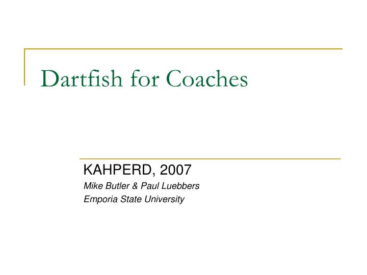 dartfish for coaches n.