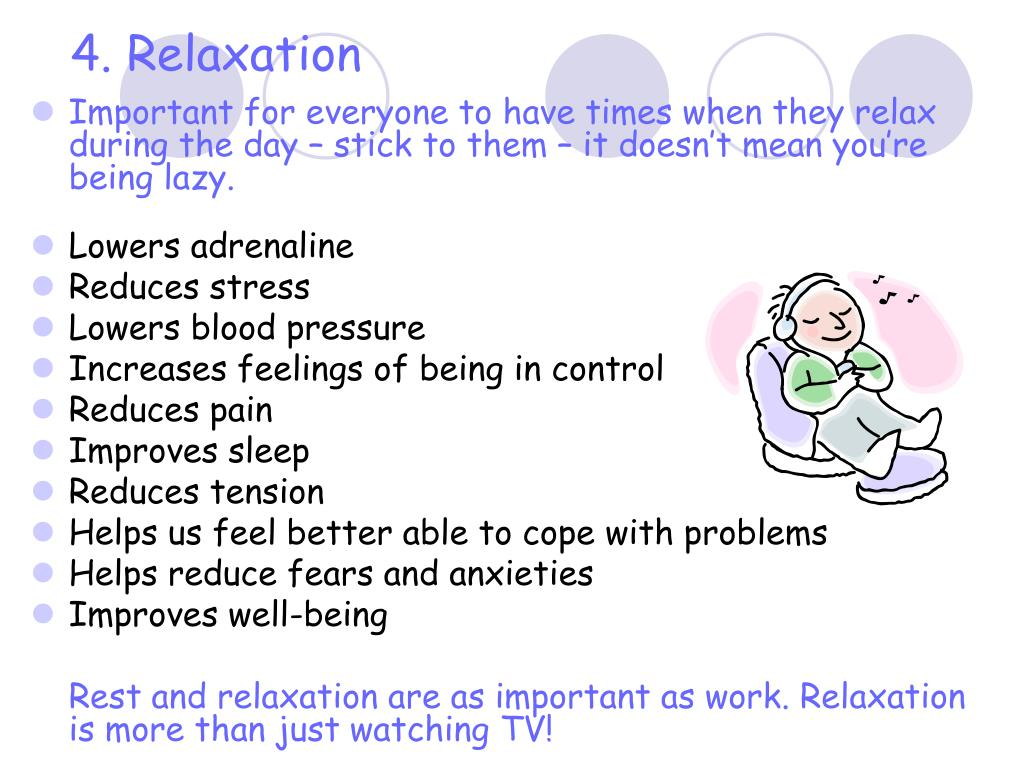 4. Relaxation