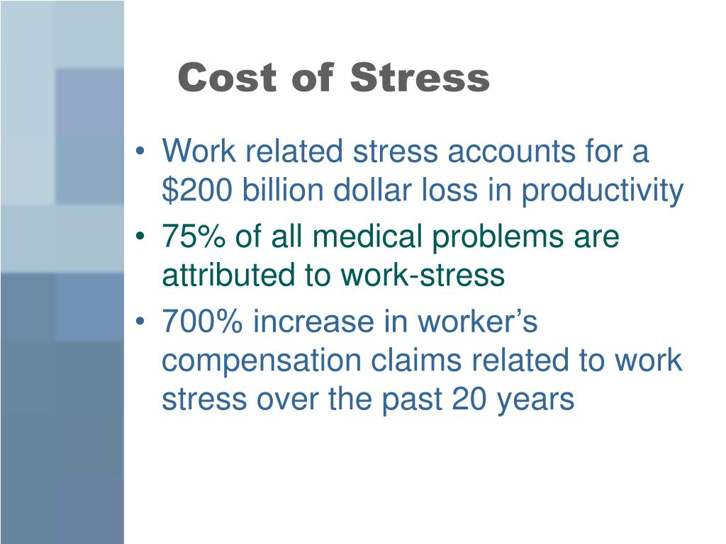 Cost of Stress