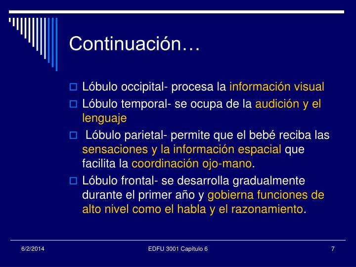 Continuación…