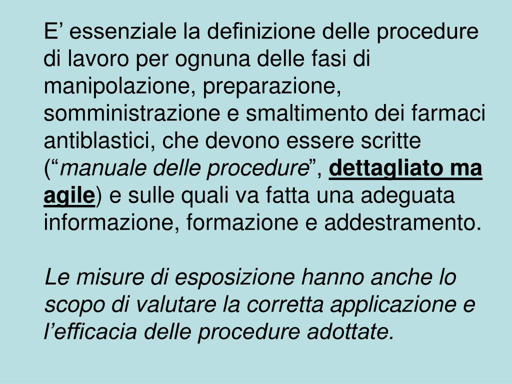 Smaltimento Farmaci Antiblastici.Ppt Farmaci Antineoplastici Powerpoint Presentation Id