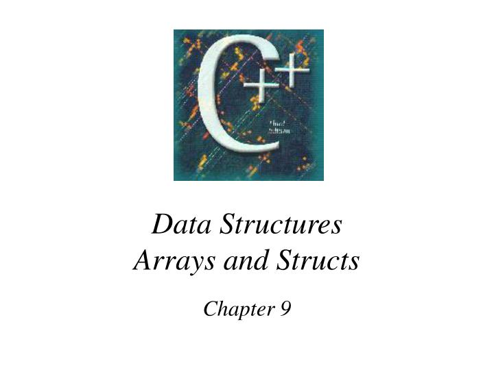 data structures arrays and structs n.