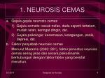 1 neurosis cemas