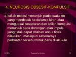 4 neurosis obsesif kompulsif