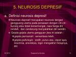 5 neurosis depresif