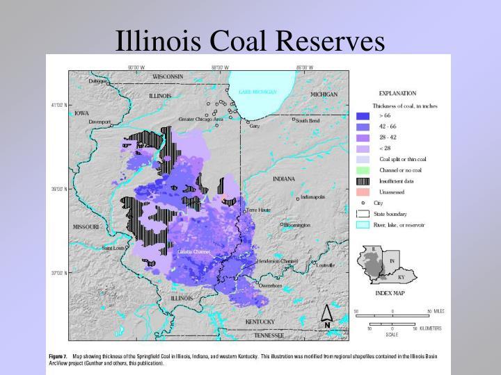 Illinois Coal Reserves