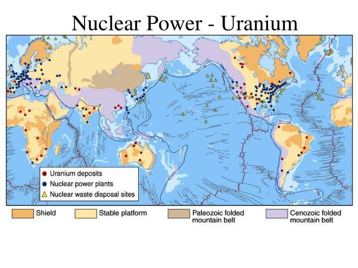 Nuclear Power - Uranium