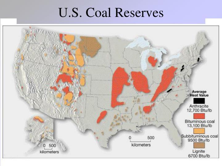 U.S. Coal Reserves