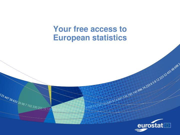 your free access to european statistics n.