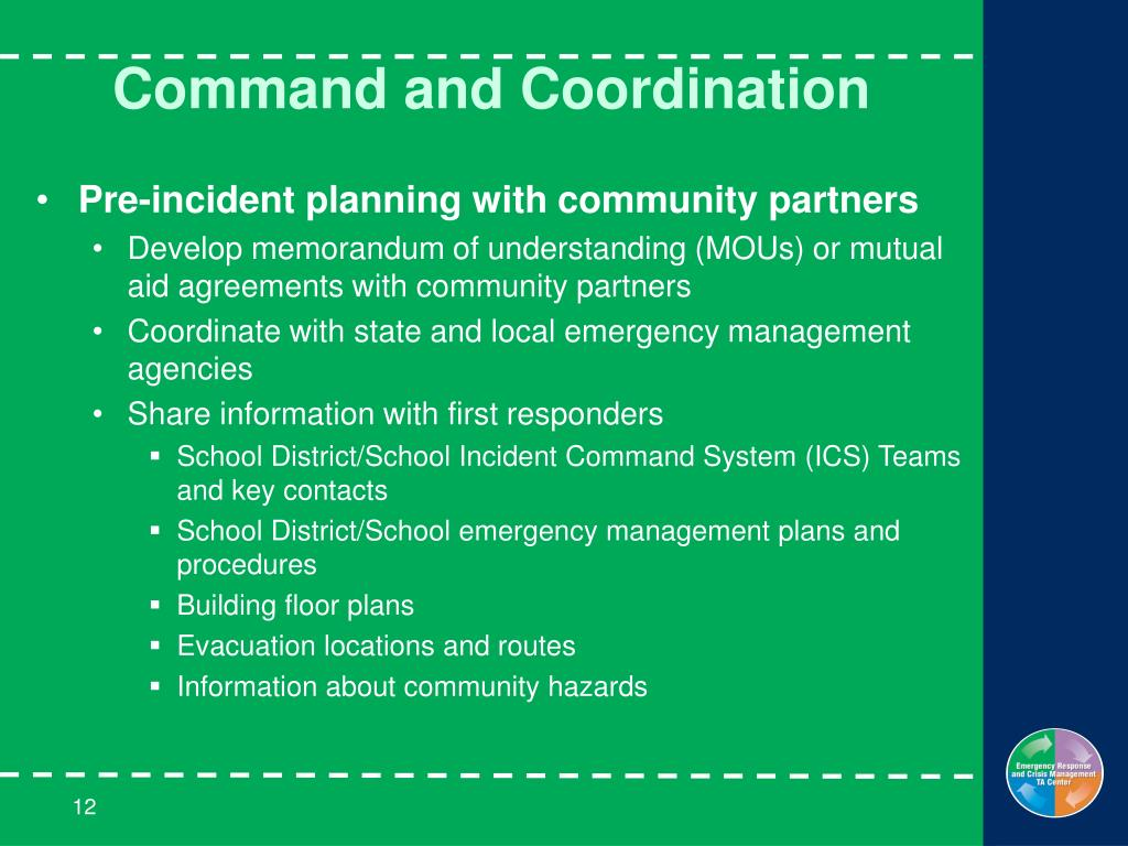 Command and Coordination