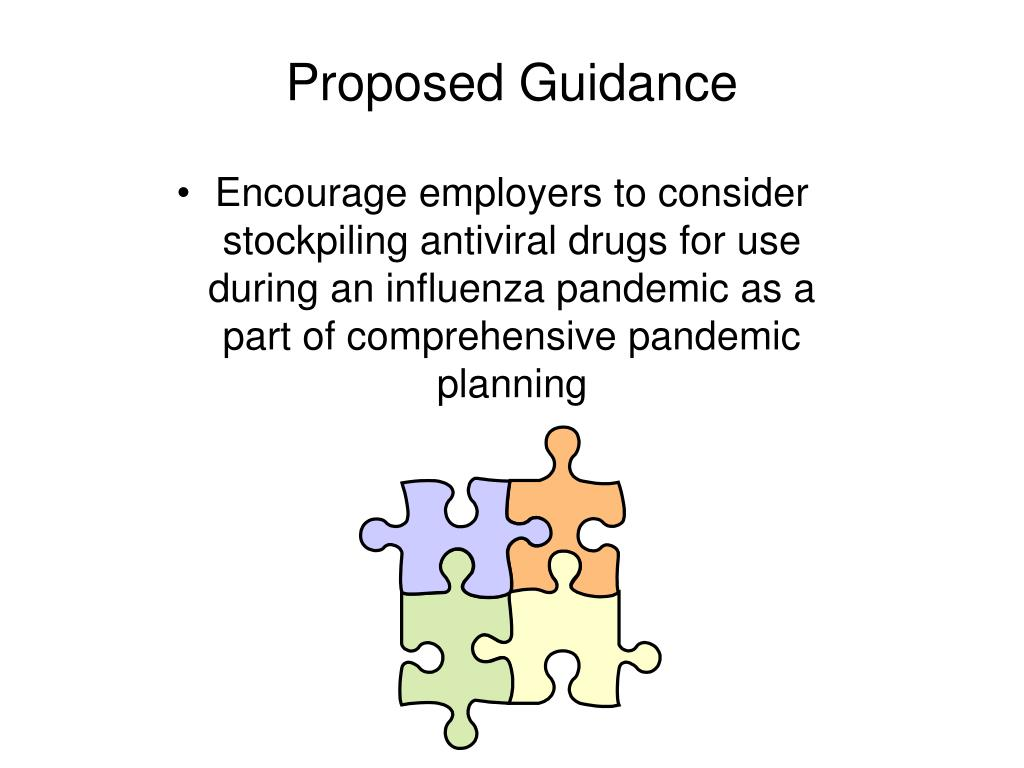 Proposed Guidance