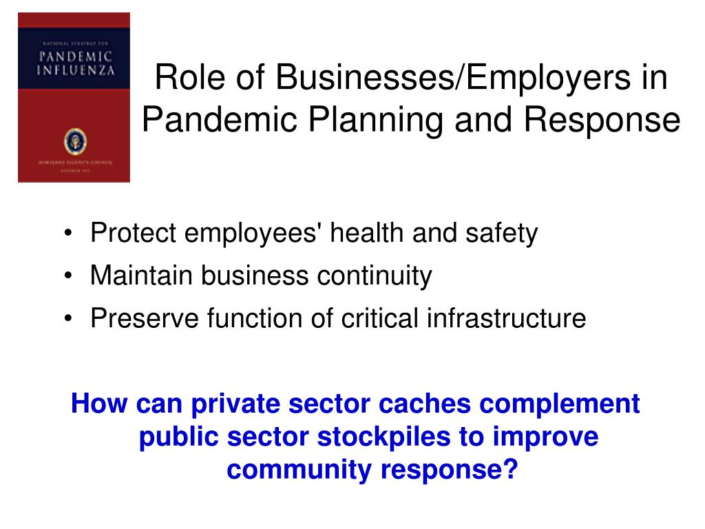 Role of Businesses/Employers in