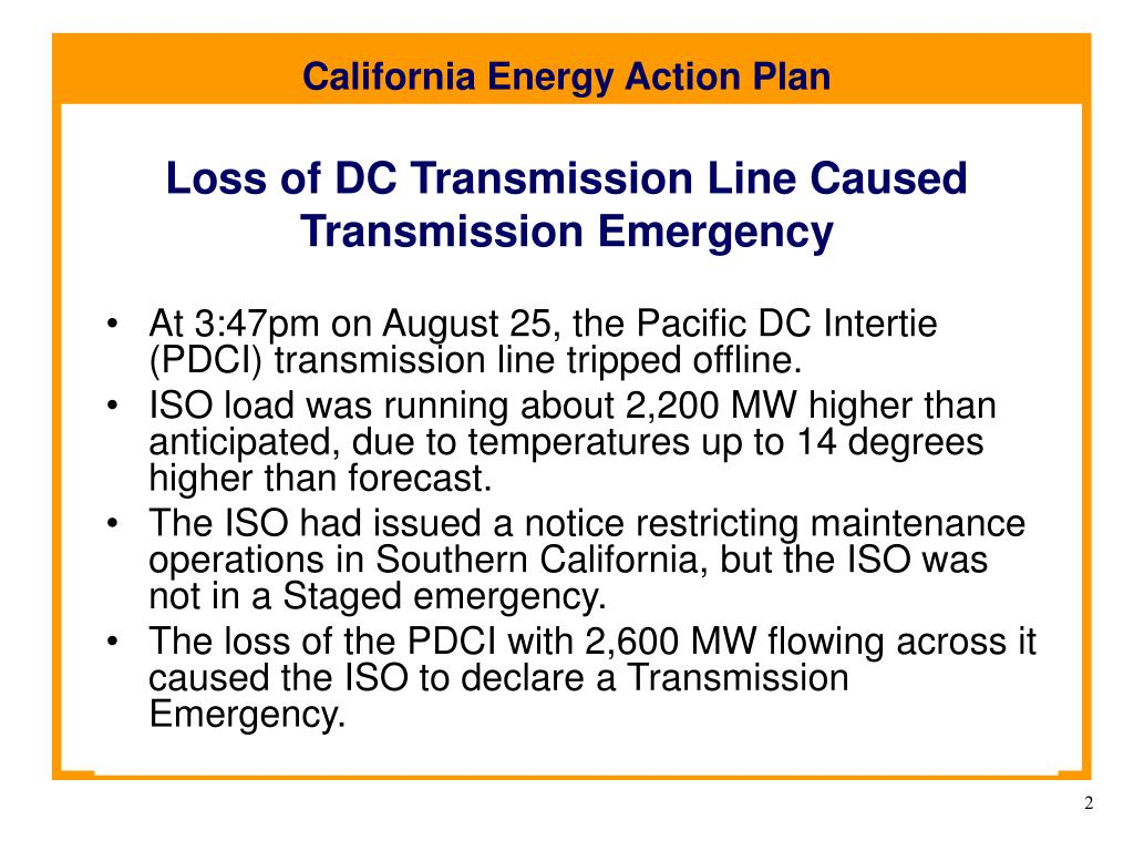 Loss of DC Transmission Line Caused Transmission Emergency