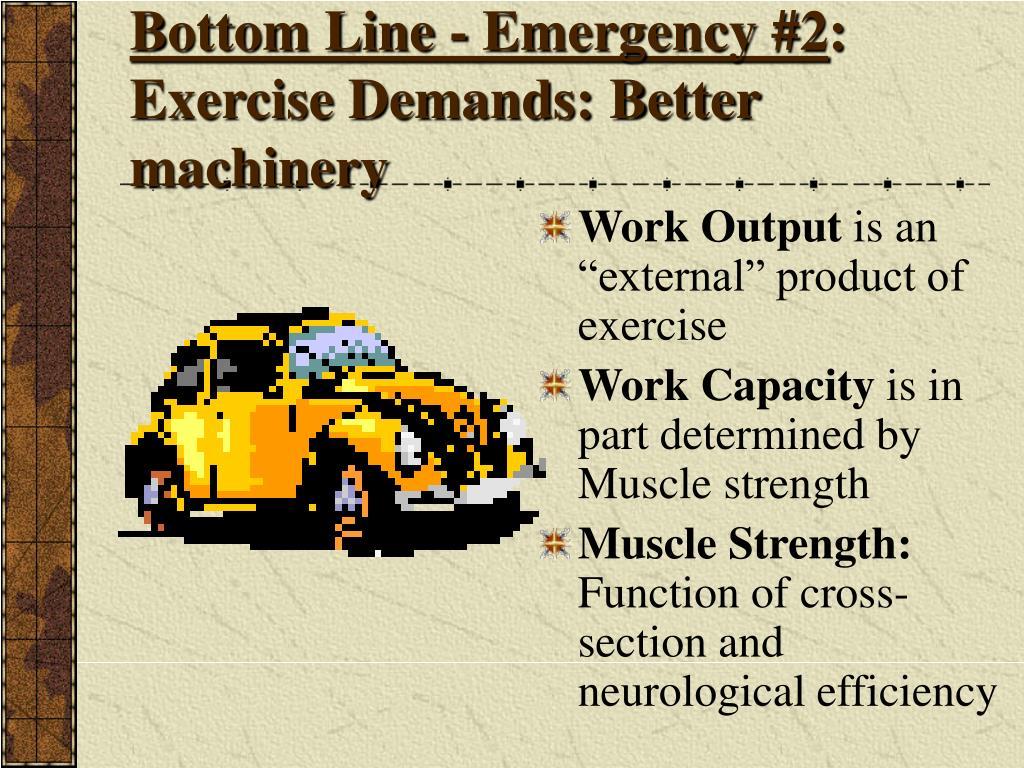 Bottom Line - Emergency #2