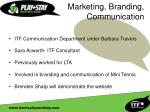 marketing branding communication