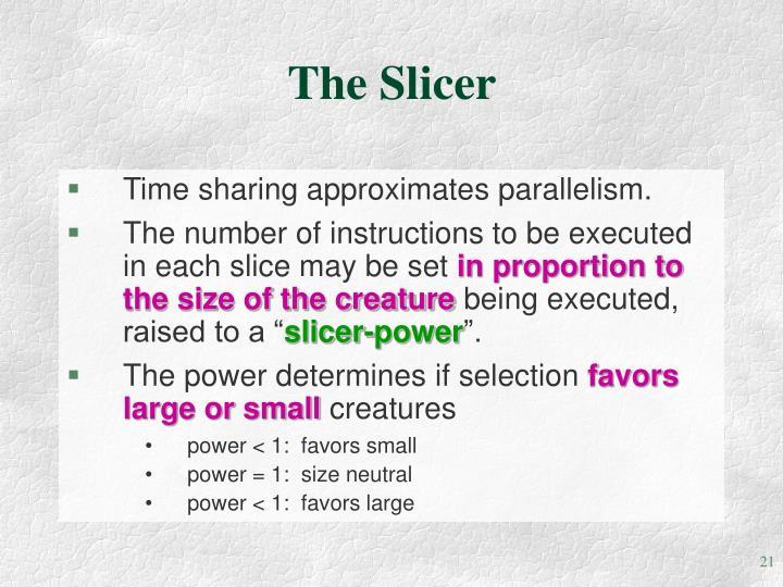 The Slicer
