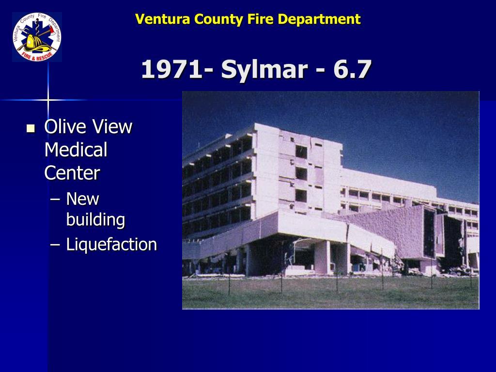1971- Sylmar - 6.7