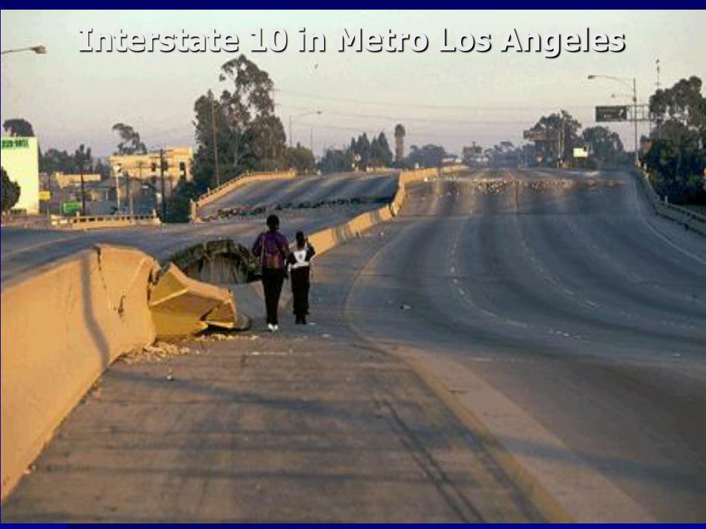 Interstate 10 in Metro Los Angeles