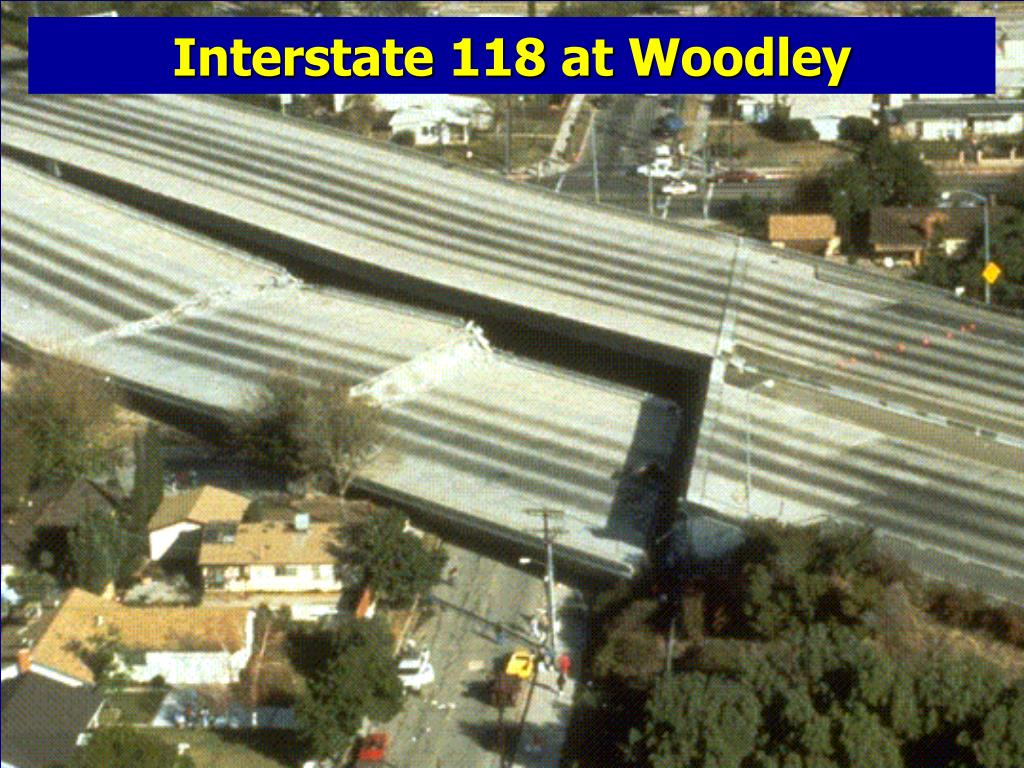 Interstate 118 at Woodley