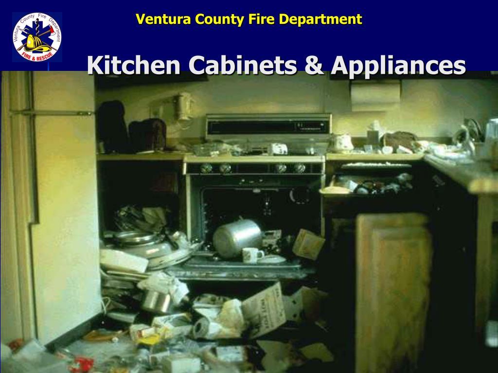 Kitchen Cabinets & Appliances