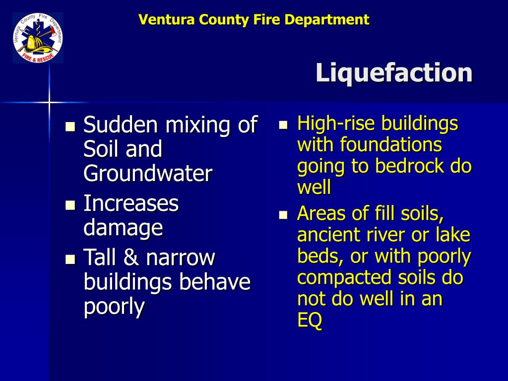 Sudden mixing of Soil and Groundwater