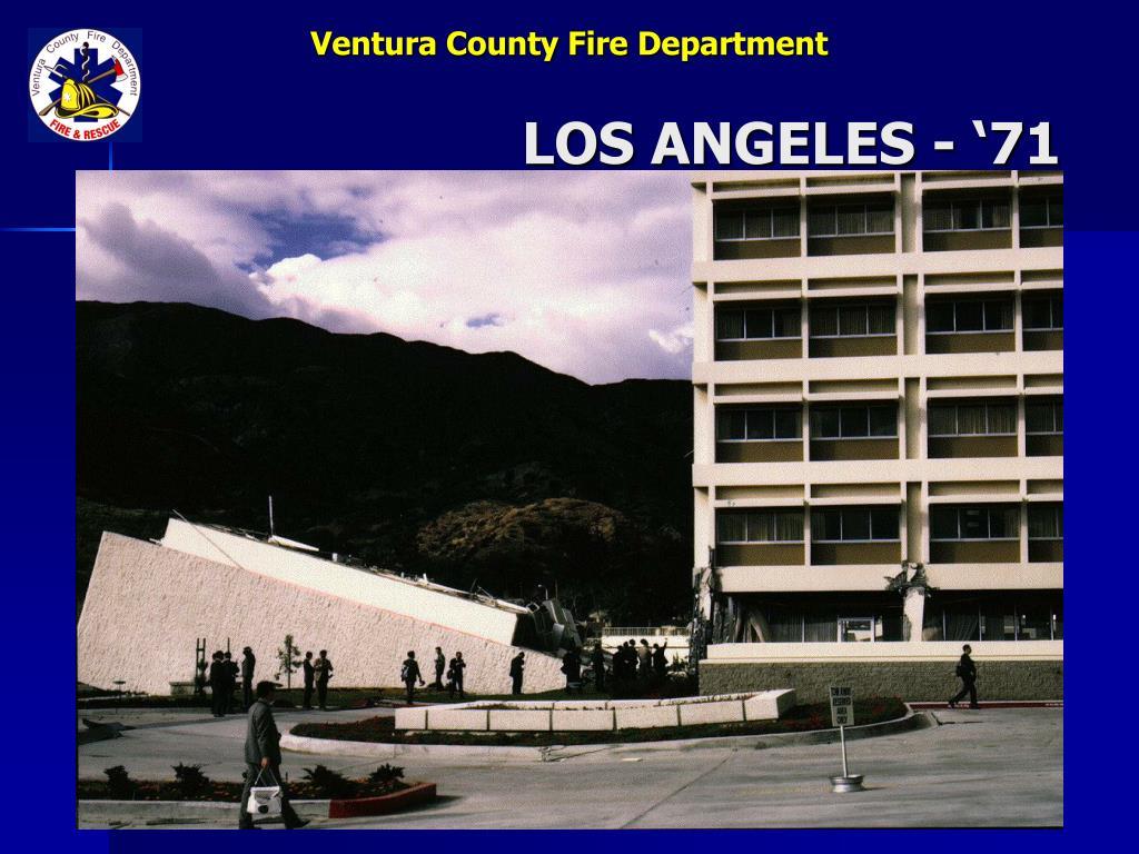LOS ANGELES - '71
