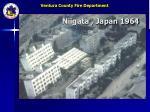niigata japan 1964