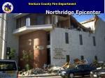 northridge epicenter