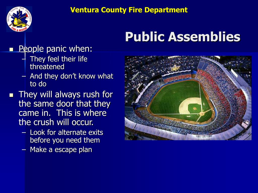 Public Assemblies