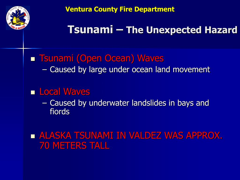 Tsunami –