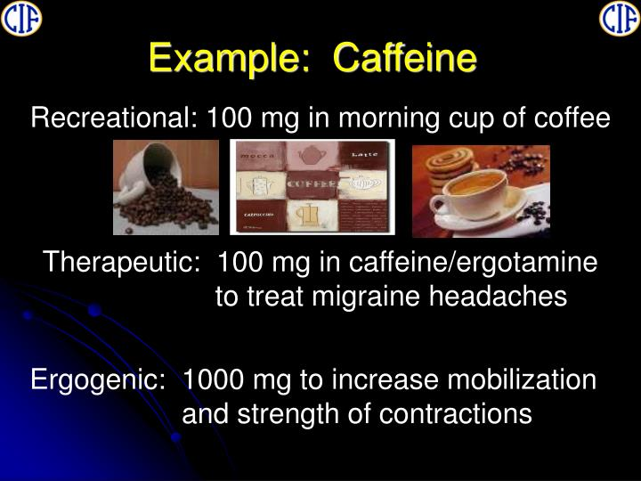 Example:  Caffeine
