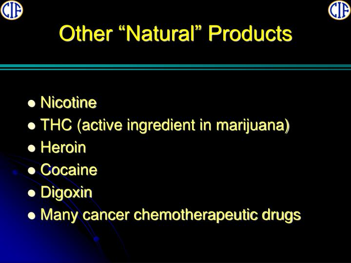 """Other """"Natural"""" Products"""