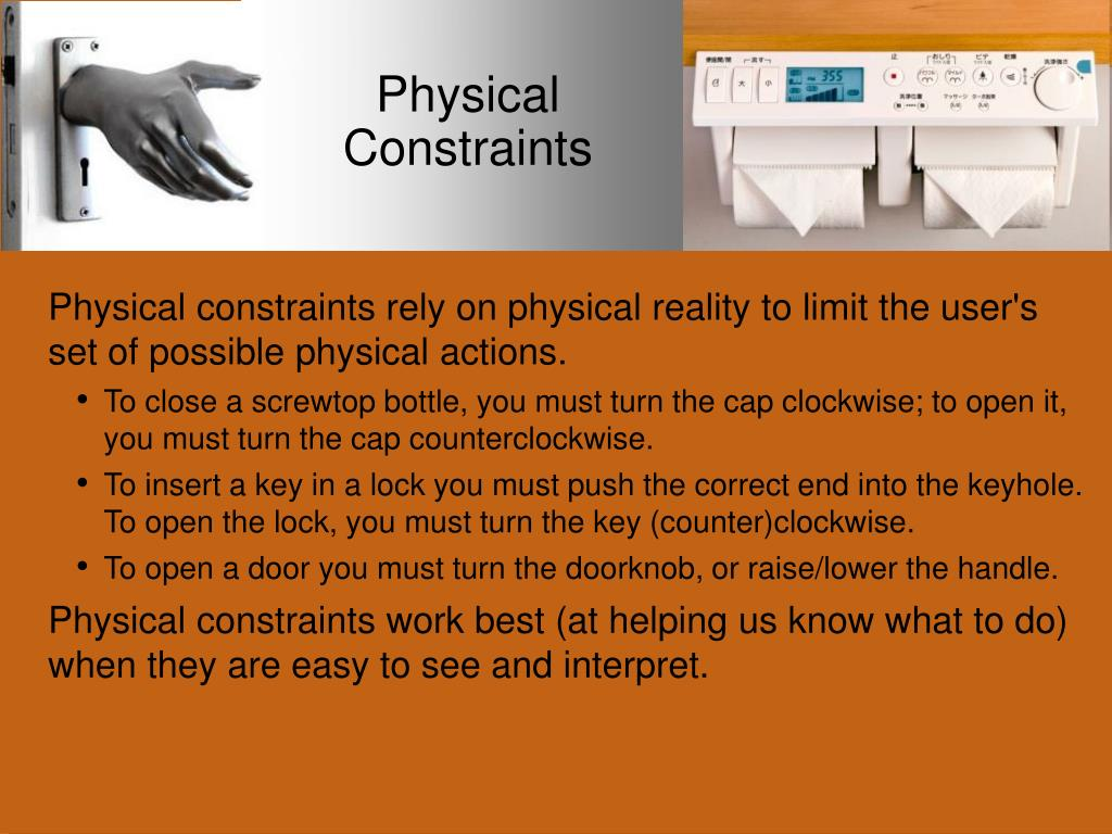 Physical Constraints