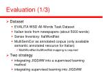 evaluation 1 3