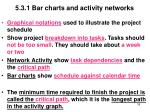 5 3 1 bar charts and activity networks