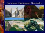 computer generated geometry