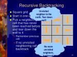recursive backtracking