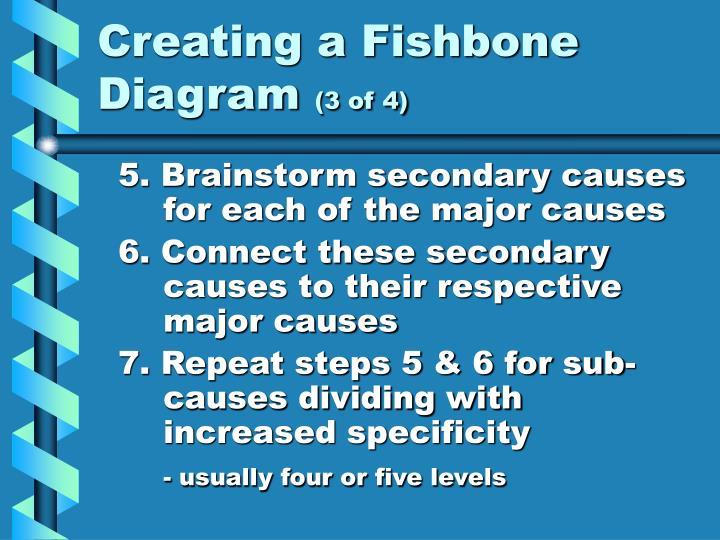 Creating a Fishbone Diagram