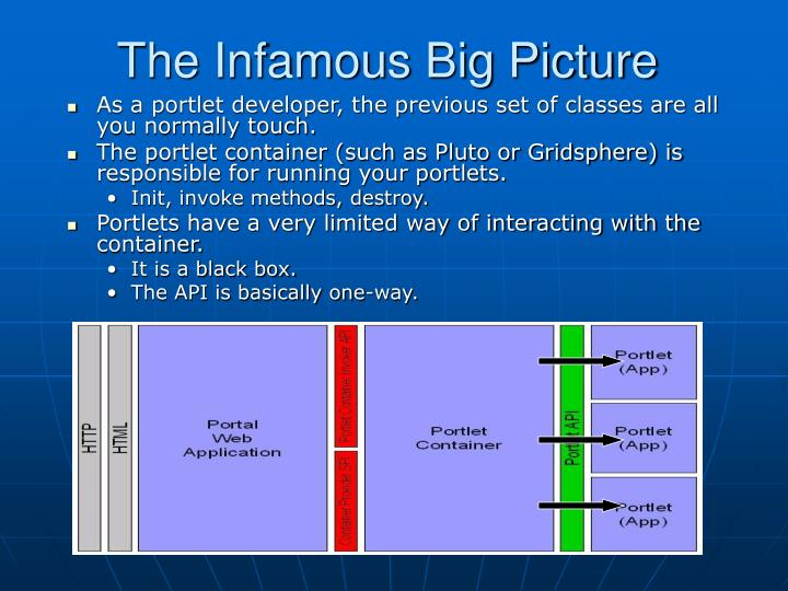 The Infamous Big Picture