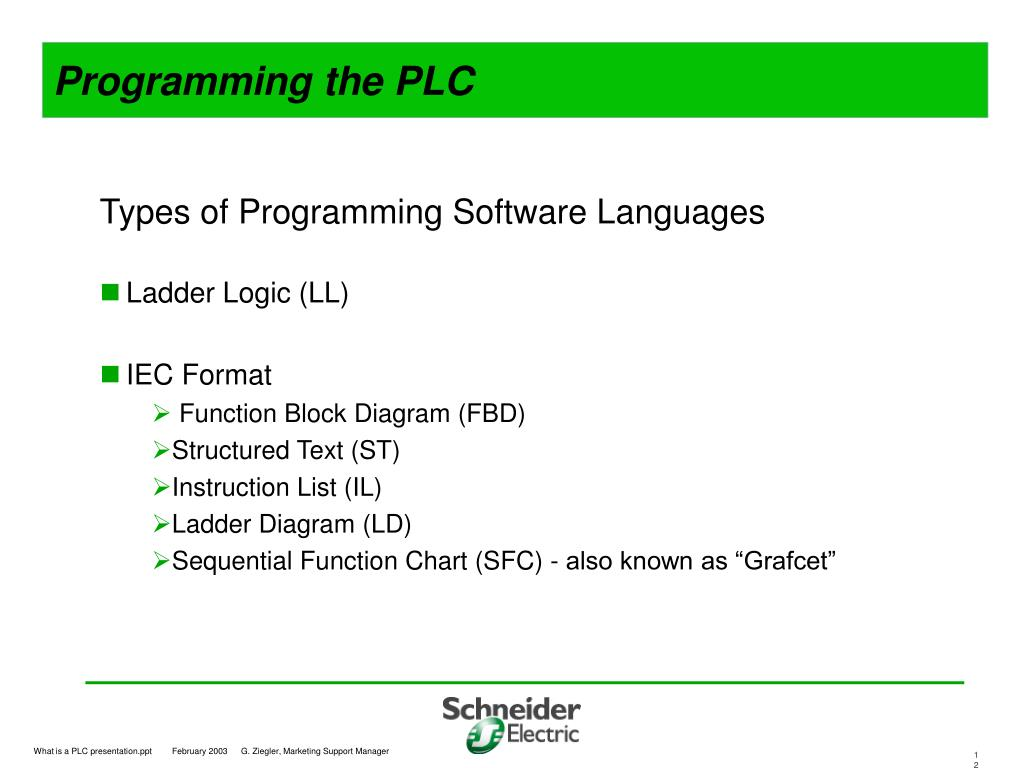 PPT - What is a Programmable Logic Controller (PLC) ? PowerPoint